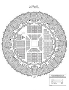 Arena 360 stage seating map
