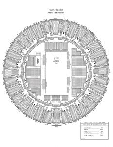 Arena basketball seating chart