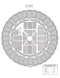 Arena boxing seating map