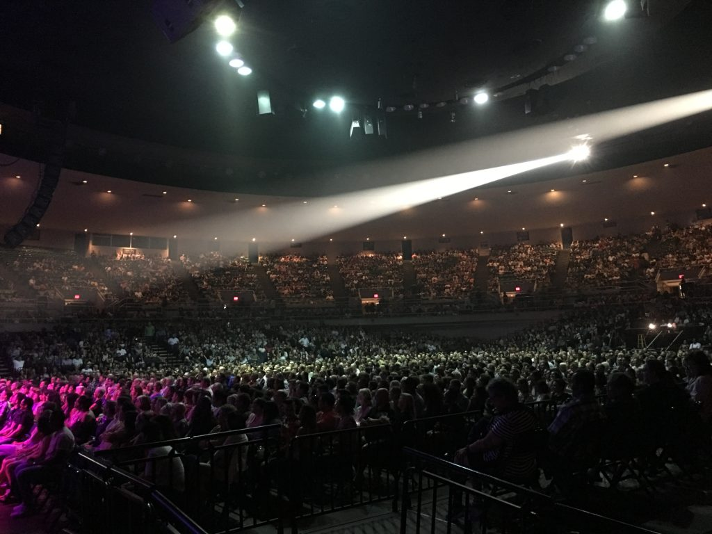 Arena Seating Blaisdell Center