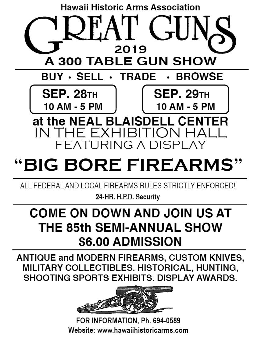 guns show sept 2019